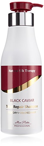 Mon Platin Natural Silk Therapy Black Caviar Shampoo (Black Caviar Total Repair 17oz)… (Repair Silk)