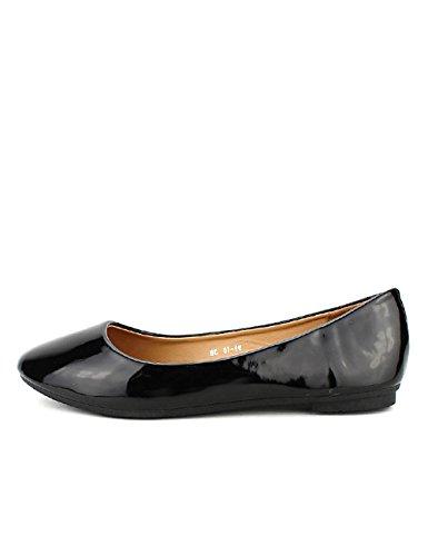 Ballerine Femme Cendriyon Vernie Noir Noire Creation Chaussures Ch d1wqxfpwB