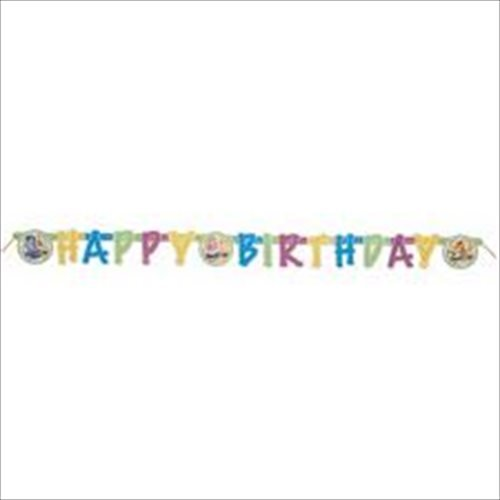 Doodlebops - Party Supplies - Jointed Birthday Banner