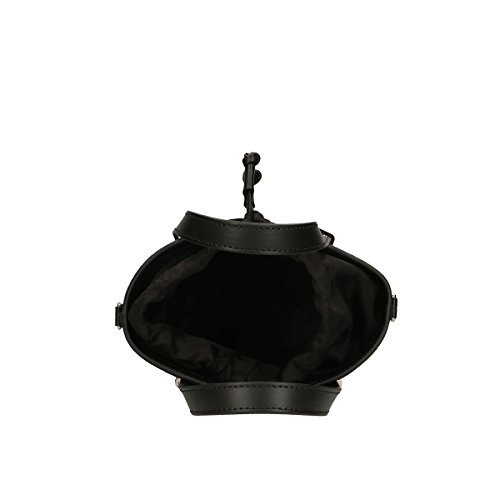 Chicca Borse Bolso en Piel genuina 24x18.5x10 Cm negro