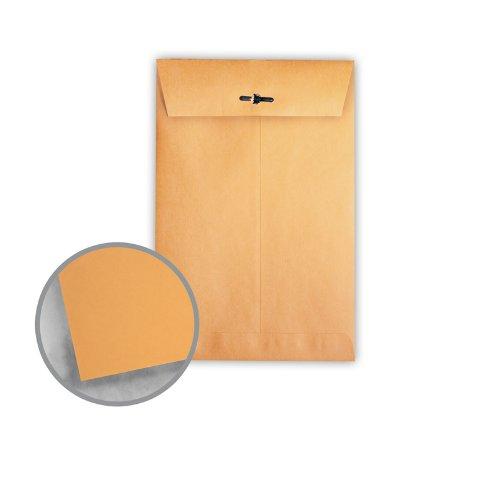Printmaster Brown Kraft Envelopes - No. 98 Clasp (10 x 15) 28 lb Writing 500 per Carton by National Envelope Printmaster