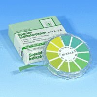 SEOH 5 Meter Roll Dispenser of pH Analytical Test Paper (pH 3.8-5.8)