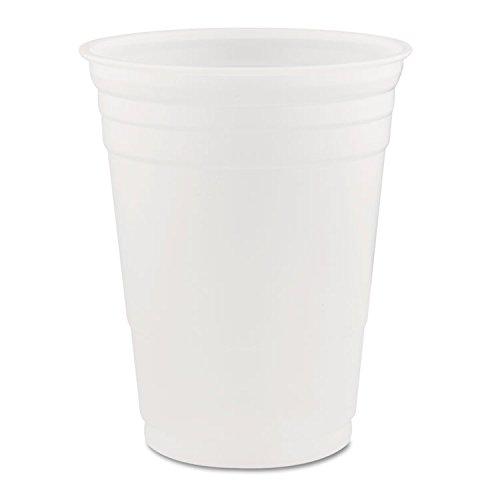 Dart DCCP16 Conex Translucent Plastic Cold Cups, 16 oz - 1000 Per Carton by DART