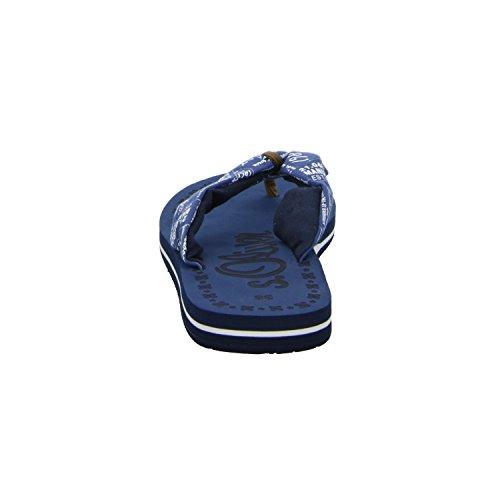 s 77103 de Material Azul Sandalias 26 5 Oliver mujer Sintético para 5 azul SqYnrYTF