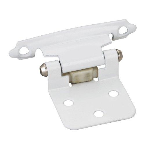 kitchen cabinet hinges white - 3