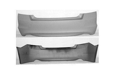 PAINTED REAR BUMPER COVER HONDA ACCORD 2008 – Alabaster Silver Metallic – NH-700M