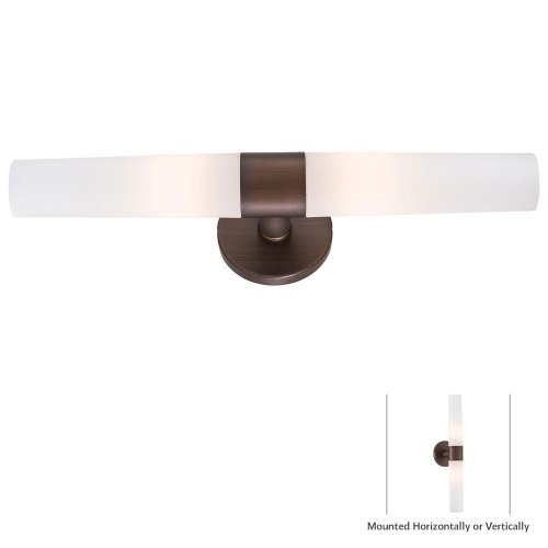 George Kovacs P5042-647B, Saber, 2 Light Bath Fixture, Painted Copper -