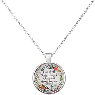 Christian Necklace Religious Bible Jewelry