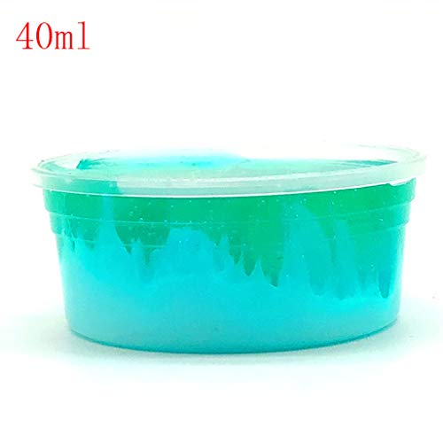 AMOFINY Baby Toys Slime Slime Mud Squishies Dream Cherry Mud Mixing Cloud Slime Putty Scented Stress Kids Clay -
