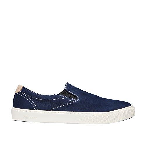 Cole Haan Men's Grandpro Deck Slip On Sneaker 11 Marine Blue Nubuck