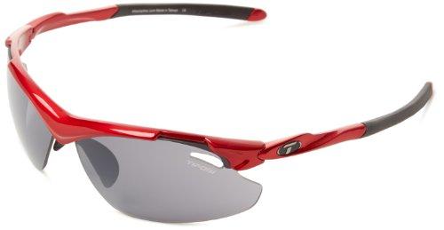 Tifosi Tyrant 2.0 1120102701 Dual Lens Sunglasses,Metallic Red,68 - Sunglasses Power