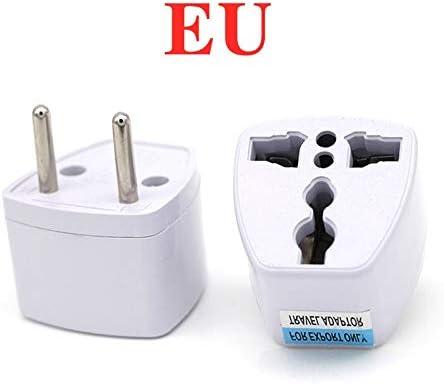 Adaptador de enchufe adaptador universal del zócalo eléctrico por todo el mundo AU Reino Unido LOS EEUU UE recorrido de la pared del cargador de alimentación de CA Opción 2 USB Adaptador