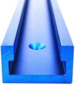 ZDX-MGGJ, 1pc Holzbearbeitungswerkzeuge Aluminiumlegierung T-Spur Standard-Gehrungsfugenlehre Chute Holz Werkzeug Mitre T Spur Slot for Holzbearbeitungswerkbank (Color : 1Pc T Track, Size : 300mm)
