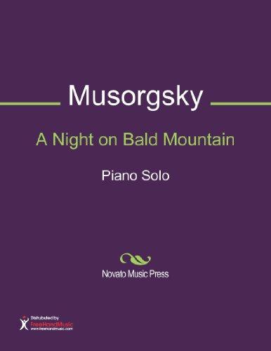 A Night on Bald Mountain Sheet Music (Piano Solo) (Night On Bald Mountain Piano Sheet Music)