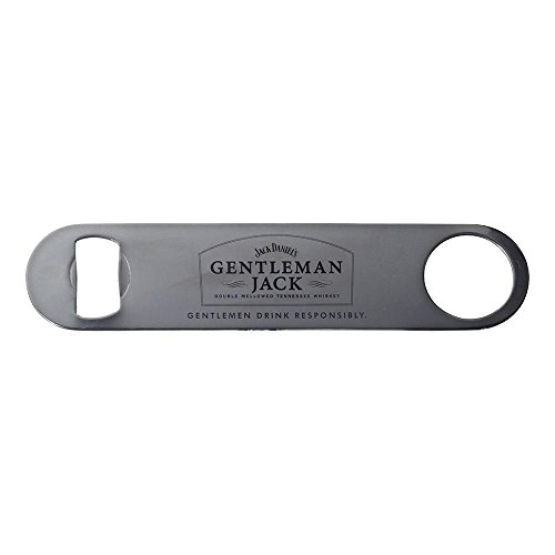 Jack Daniels Gentleman Jack Tennessee Whiskey Bartender Professional Paddle Wrench Church Key Stainless Steel Bottle Opener