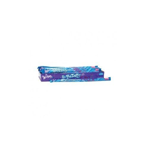 WONKA LAFFY TAFFY ROPE BLUE RASPBERRY 3/99c 0.81 oz Each ( 24 in a Pack -