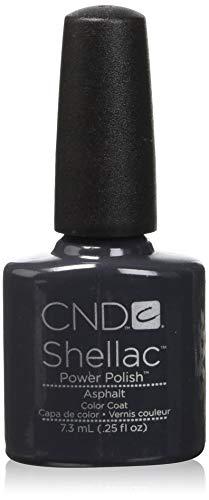 Creative Gel Nails - Creative Nail Shellac, asphalt, 0.25 Fluid Ounce