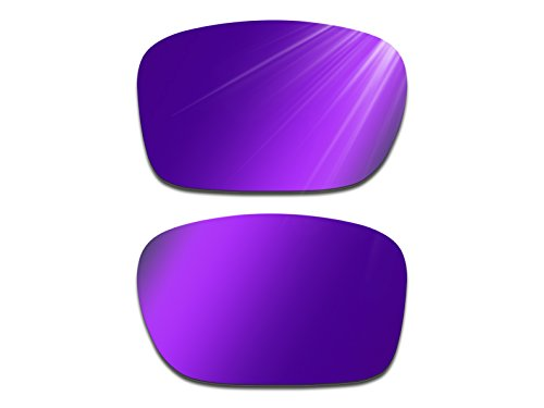 Glintbay Harden Coated Replacement Lenses for Oakley Holbrook Sunglasses - Multiple Colors (Polarized Deep Purple Mirror, - Lenses Purple Oakley Holbrook