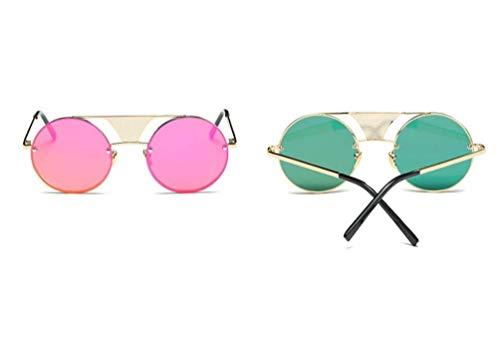 Lunettes Unisexes de Protection UV Mode b Rondes légères Soleil YTTY Femmes Ultra de Lunettes 07qfHwp