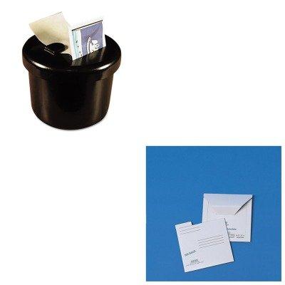 KITLEE40100QUA64112 - Value Kit - Quality Park Redi-File Disk Pocket Mailer (QUA64112) and Lee Ultimate Stamp Dispenser (LEE40100)