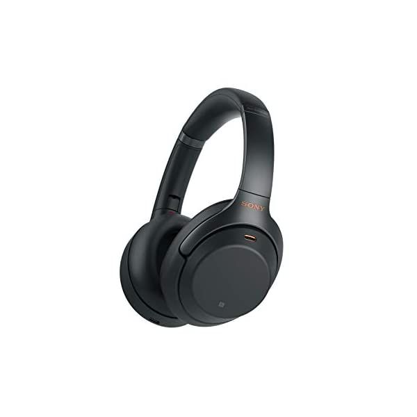 Sony WH1000XM3 Bluetooth Wireless Noise Canceling Headphones, Black WH-1000XM3/B...
