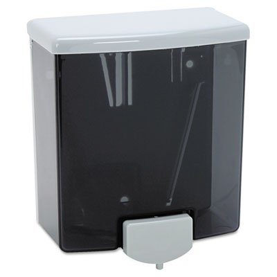 ClassicSeries Surface-Mounted Soap Dispenser, 40oz, Black/Gray, Sold as 2 Each