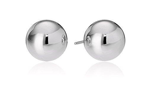 18k White Gold 7mm Ball Stud Earrings (18k Gold Ball Earrings)