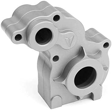 Vanquish Products Aluminum Transmission Housing, Clear Anodized: SCX10, VPS01183
