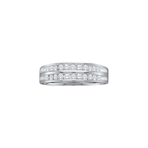 1/4 Total Carat Weight ROUND DIAMOND LADIES CLUSTER BAND by Jawa Fashion