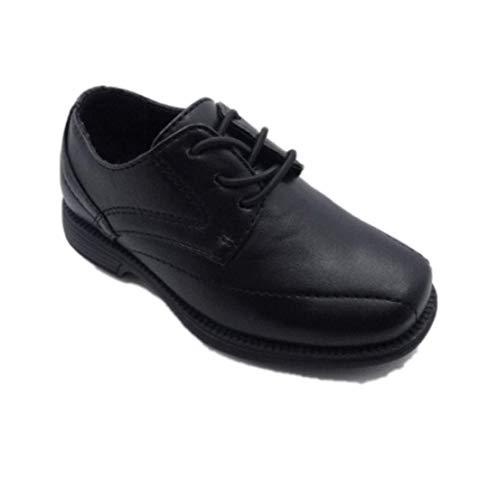 Cat & Jack Toddler Boys' Timothy Dress Oxfords, Size 11 Black]()