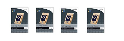 Genuine Electrolux S-Bag Classic Vacuum Bag, (4 packs of 5 Bags = 20 Bags) by Home & Appliances