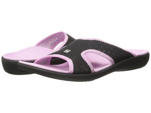 Spenco(スペンコ) レディース 女性用 シューズ 靴 サンダル Kholo Breeze - Black/Pink [並行輸入品]