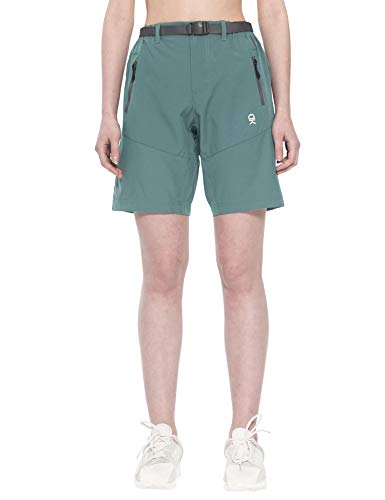 Little Donkey Andy Women's Stretch Quick Dry Cargo Shorts for Hiking, Camping, Travel Slate Size ()
