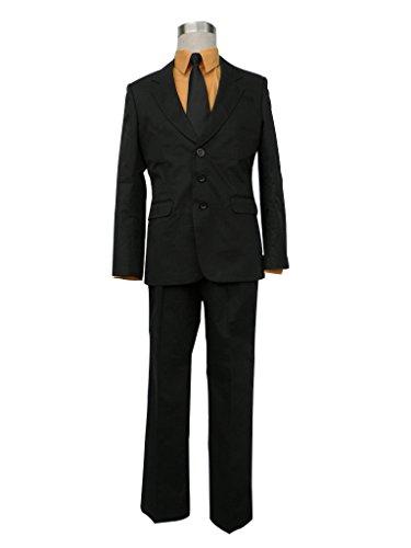 Katekyo Hitman Reborn Cosplay Costumes (Mtxc Men's Katekyo Hitman Reborn Cosplay Costume Sasagawa Ryohei 1st Size XXXL-Plus Black)