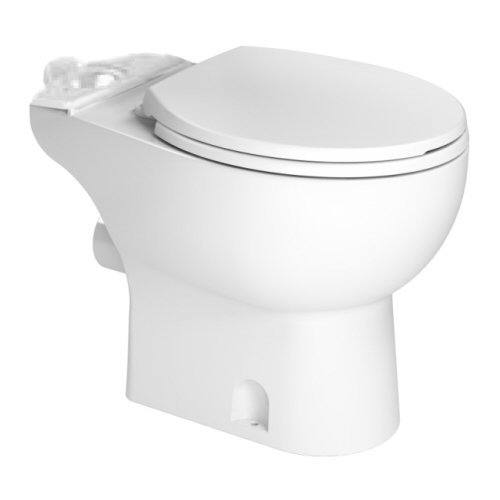 SANIFLO 083 RF WHITE TOILET BOWL ONLY INCLUDES SOFT CLOSE TOILET SEAT MC353297