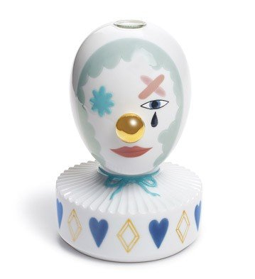 Lladro The Masquerade I Bud Vase by Lladro Porcelain