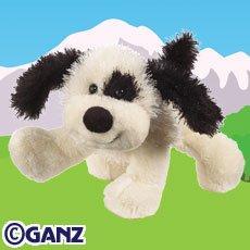 - FMMI Webkinz Black and White Cheeky Dog