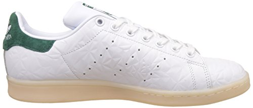 Homme Ftwwht Smith adidas Cgreen Blanc Stan Ftwwht Basses Baskets qIRxxwzYO