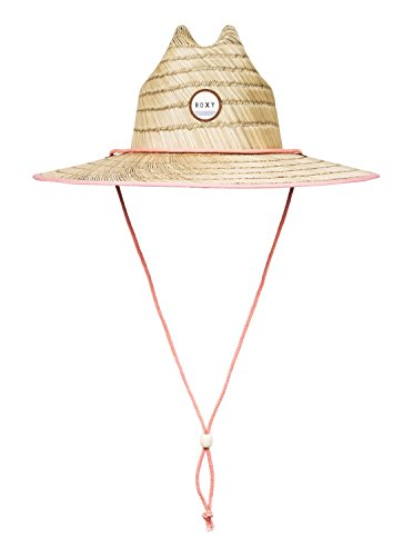 roxy-womens-tomboy-straw-sun-protection-hat-fusion-coral-m-l