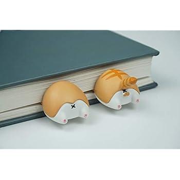 Bookmark New Cute Cat Fox Corgi Hamster Butt Bookmark Paper Pin Stationery School Supplies