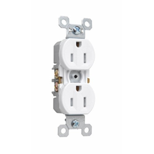 Legrand-Pass & Seymour 3232TRSW Pass and Seymour 3232-Trsw 15A 125V Duplex Receptacle