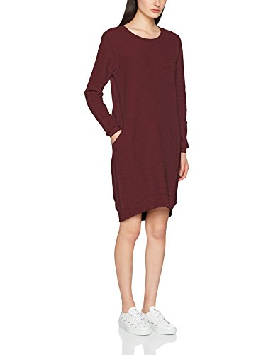 Kleid ICHI Oxblood 16600 Dr Red Suna Rot Damen 77Twg