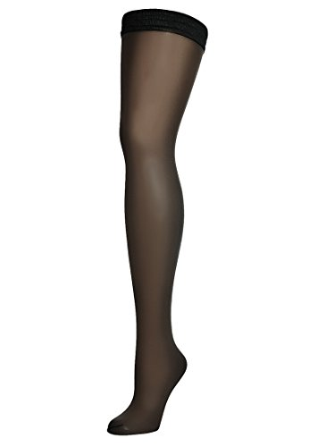 Wolford Naked 8 Stay-Up - Mujer 8 den Black