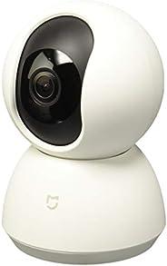 Camera Ip Xiaomi 360° Mi Home 720p Hd Segurança, Funciona com Alexa