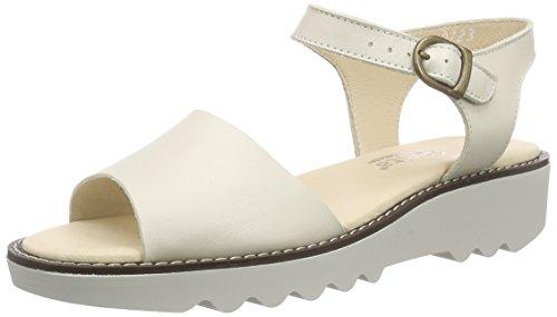 Scarpe T Cinturino Donna 1 Maria con Sandal col Sanita Bianco Tacco a White U6qBxnw
