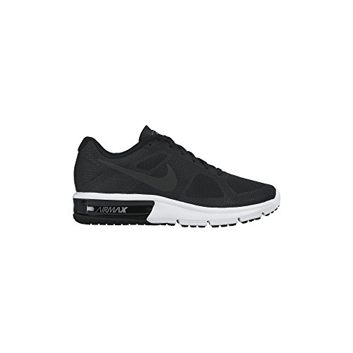 Women's Nike Air Max Sequent Running Shoe Black/Grey/Whit...