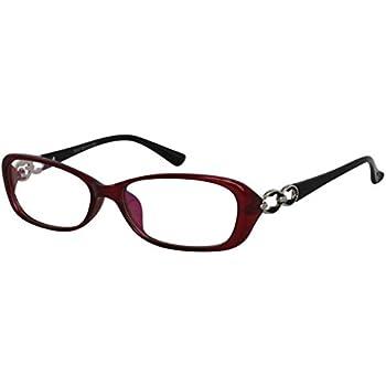 ed66469f73f7 EyeBuyExpress Bifocal Reading Glasses Mens Womens Red Black Silver Temple  Anti Glare