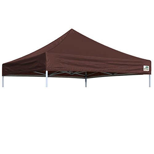 Pop Up Canopy Top Cover Replacement Top Cover Only (10x10 Feet, Brown)