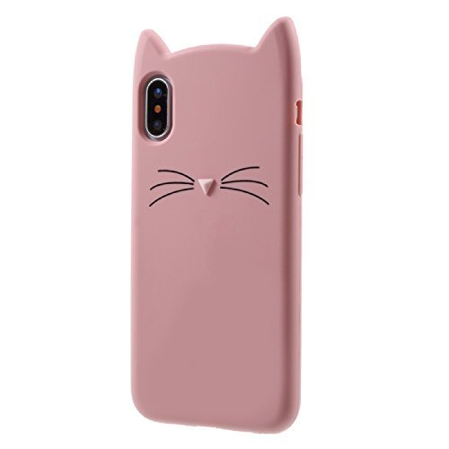 Cat Iphone Xs Max Case Miniko Tm Cute Kawaii Funny 3d Pink
