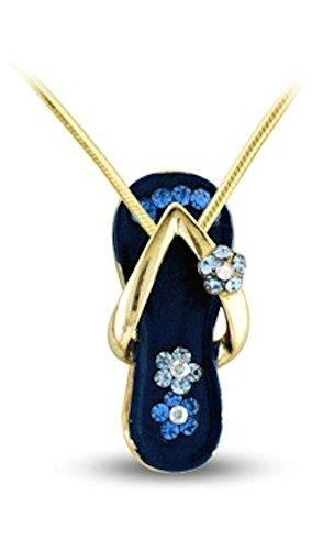 Sandal Pendant (Royal Blue) (Pendant Sandal)
